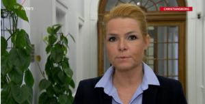 Integreringsminister Støjberg imamer TV2 2016