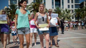 Shortshorer kvindesyn islamisering Toulon Frankrig 2016
