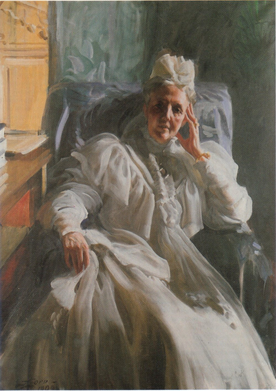 Anders_Zorn_-_Drottning_Sophia_1909