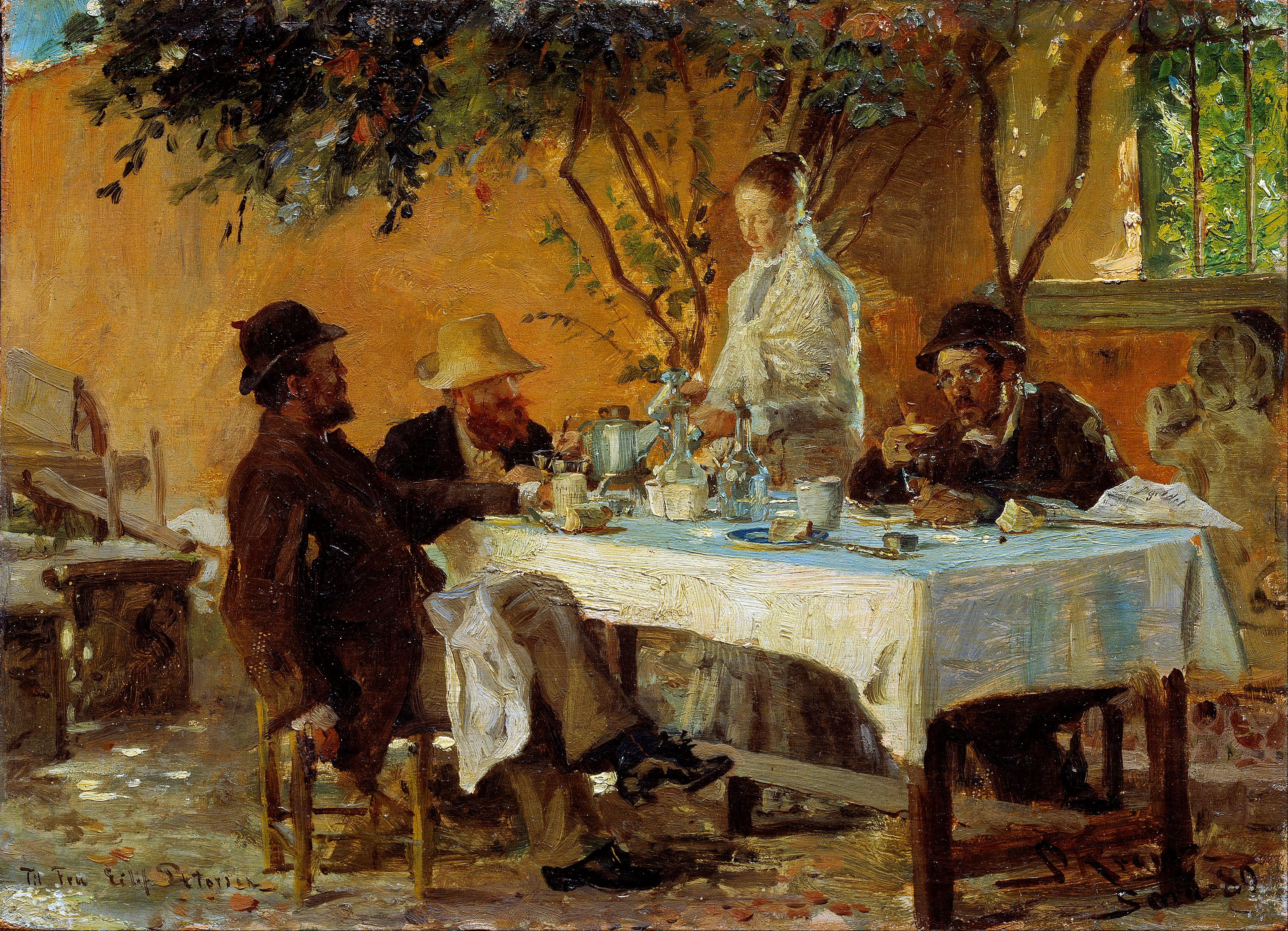 peder_severin_kroeyer_-_breakfast_in_sora_-_google_art_project