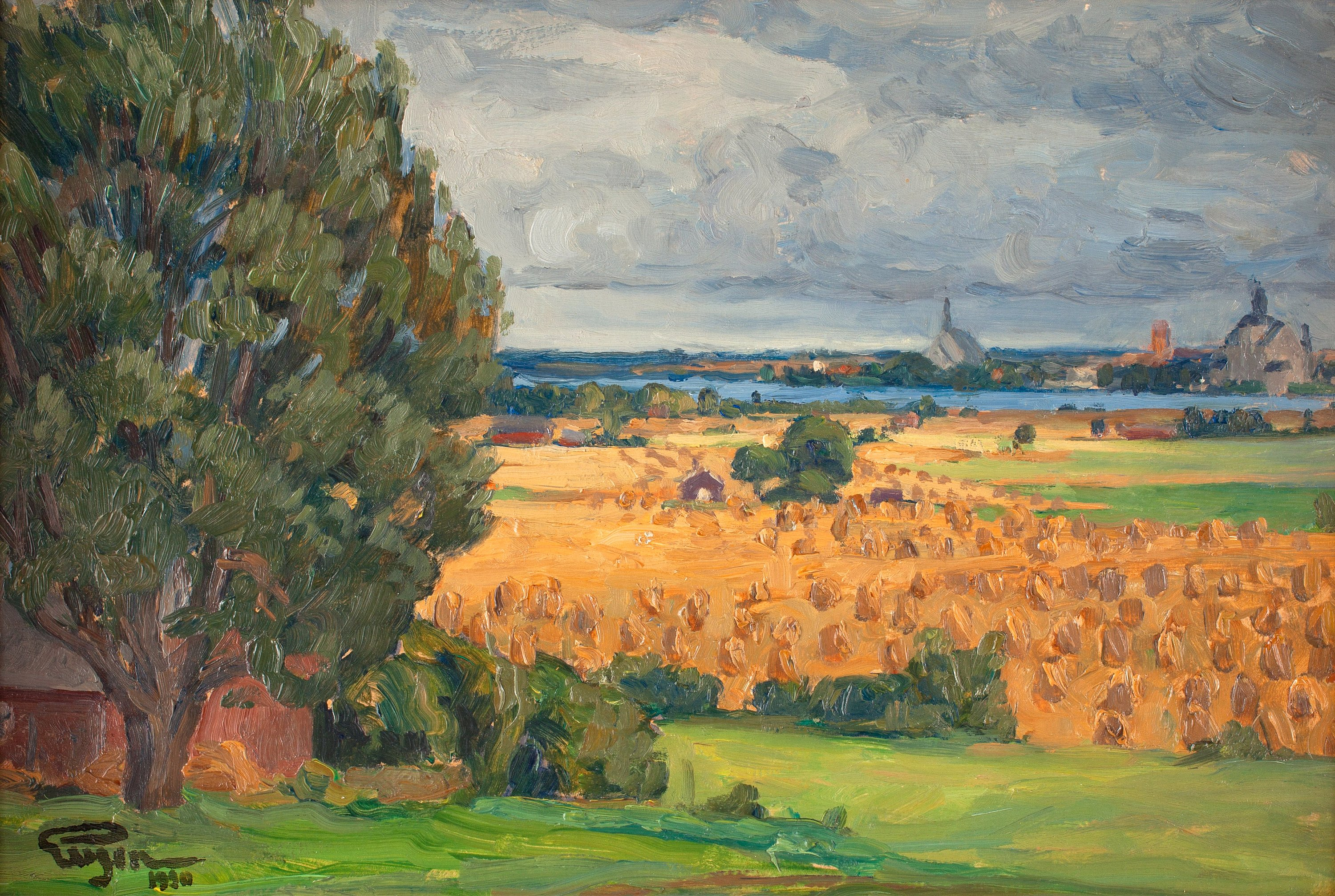 prince_eugen_-_view_of_vadstena_from_the_surrounding_fields_1920