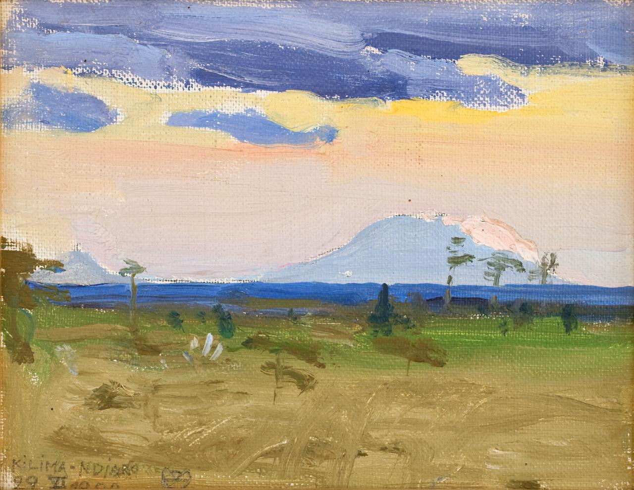 akseli_gallen-kallela_kilima-ndjaro_22_vi-1909