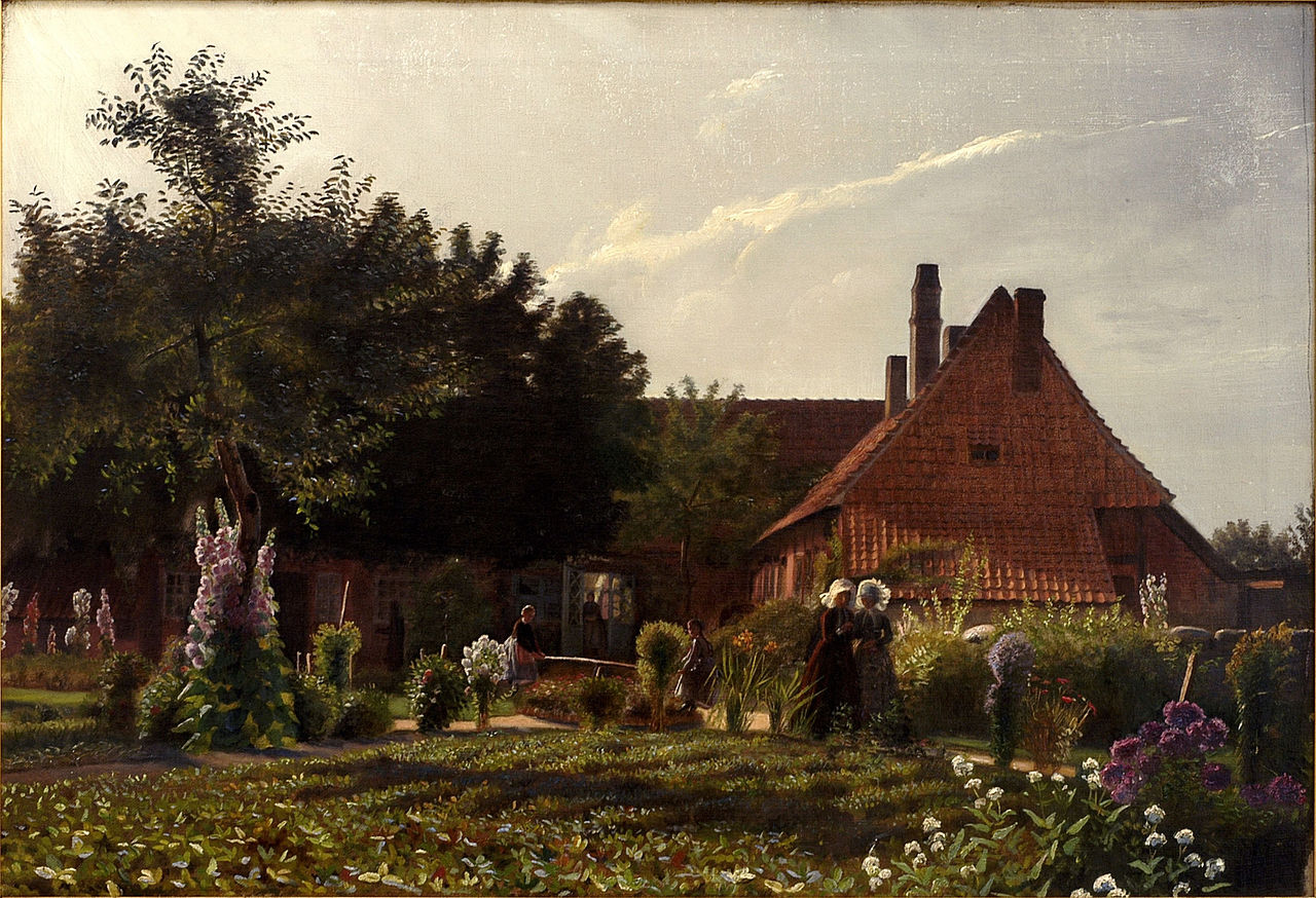 kristian_zahrtmann_-_grandmothers_garden_-_google_art_project
