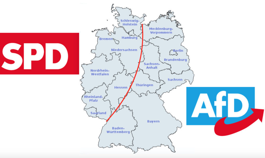 Tyskland Afd Storre End Spd I Syv Delstater Document