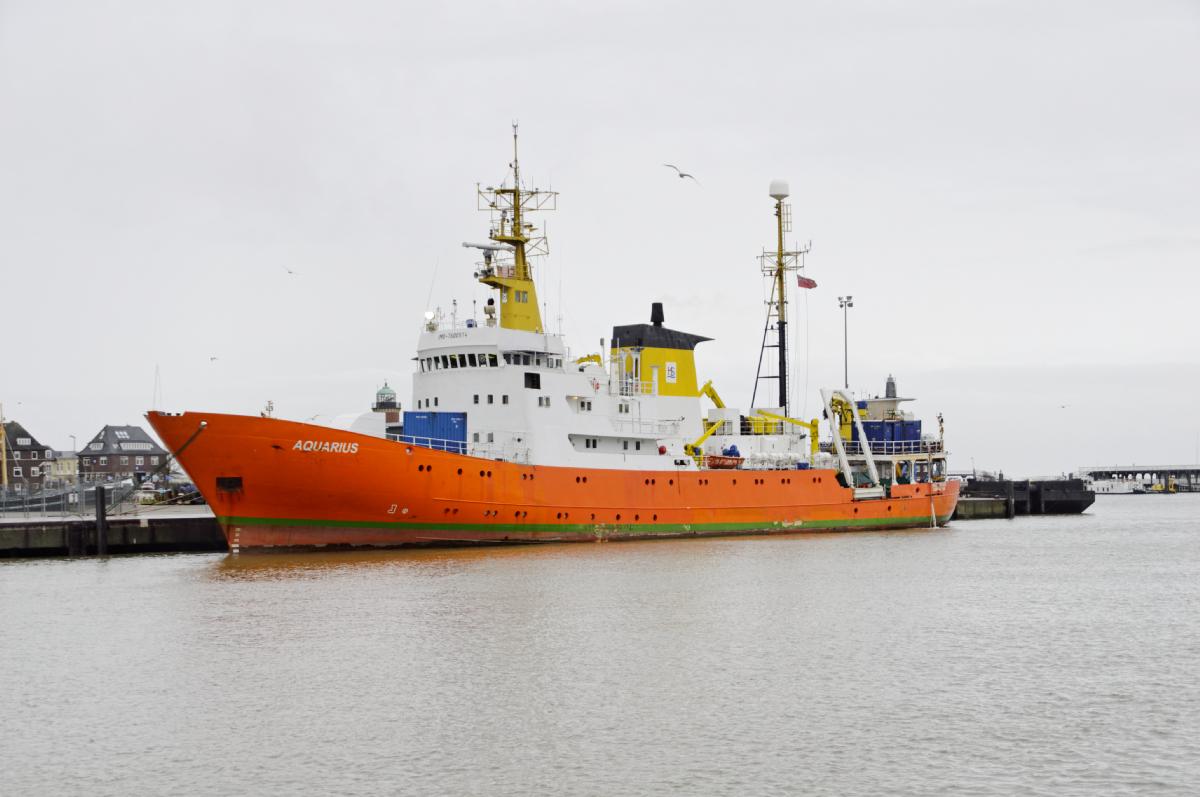 Aquarius 2 fik søndag afleveret 58 migranter og...