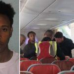 Flypassagerer hindrede deportation af somalisk voldtægtsmand