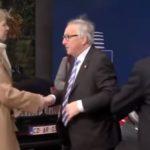 (Video) – Jean-Claude Juncker i ny bizar optræden – kommer det i danske medier?