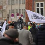 Radikale islamister afholdt politisk fredagsbøn på Christiansborg Slotsplads, 22. marts 2019