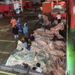 Strandede migranter ud for Tunesiens kyst afviser medicinsk hjælp – vil til Europa
