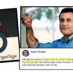 Naser Khader amok på Nye Borgerlige-kandidat: 'Dagens racist'