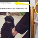 Den syriske velfærdmigrant Mohamad Alnabhan ønsker burka til små piger