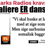 Danmarks Radio kræver nu, at de coronasmittede somaliere i Aarhus SKAL omtales som danskere eller aarhusianere