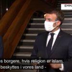 Frankrigs præsident Emmanuel Macron efter sharia-halshugning: Vi skal beskytte muslimerne