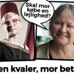 Hærværk mod kulturarven: 39-årige Katrine Dirckinck-Holmfeld bor i forældrekøb