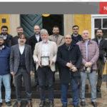 Roskilde-biskop Peter Fischer-Møller fotograferet med 15 tyrkiske imamer… og en dydig kvi