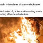 Muslimer forspilder aldrig en mulighed for at kræve islamkritik forbudt