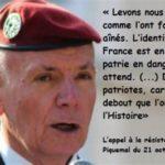 Franske generalers brev til den franske præsident Macron