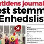 Fremtidens journalister stemmer på Enhedslisten og De Radikale
