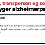 Bøsse, transperson og socialist ydmyger alzheimerpatient Søren Krarup